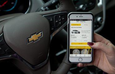 General Motors Maven smartphone car sharing app