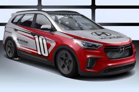 Hyundai Santa Fast SUV images
