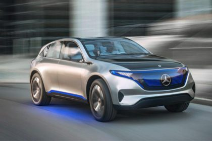 Mercedes Benz EQ Concept images
