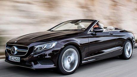 Mercedes S Class Cabriolet pictures