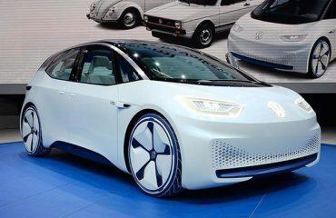 Volkswagen electric car paris motor show