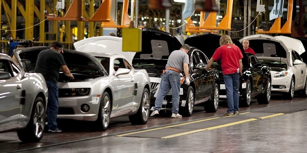 Automobile plant in Canada