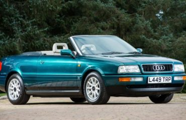 1994 Audi Cabriolet Princess Diana sold at Silverstone Auctions