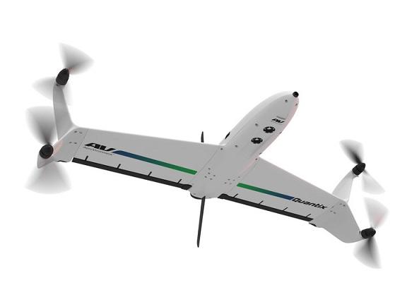 AeroVironment commercial drone the Quantix