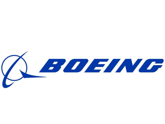 Boeing airplane logo
