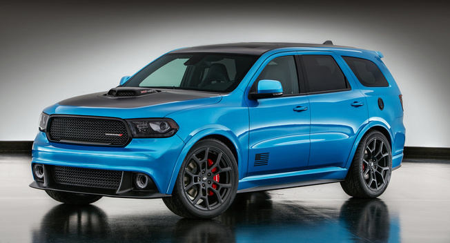 2017 Dodge Durango Shaker images