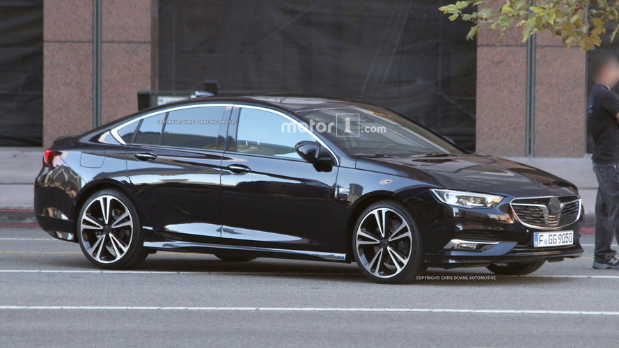 2018 Buick Regal Sedan and Wagon Spy