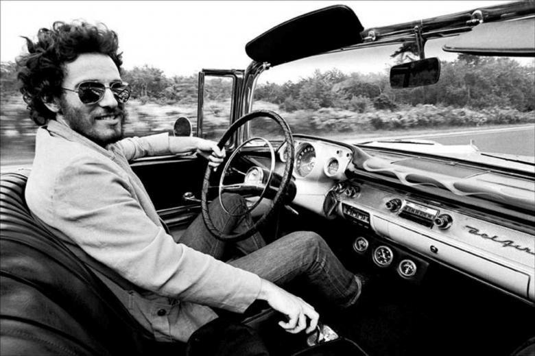 Bruce Springsteen 1957 Chevrolet Bel Air convertible