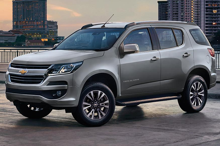 Chevrolet Trailblazer Facelift Launching in India Early 2017