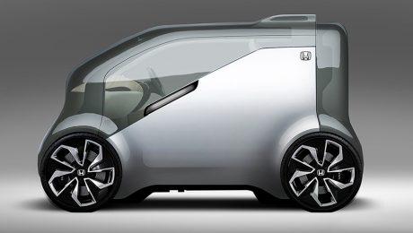 Honda electric car images