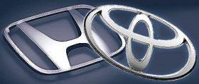Honda and Toyota