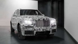 Rolls-Royce SUV Project Cullinan images