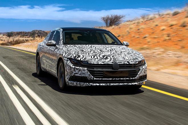 Volkswagen Arteon prototype images