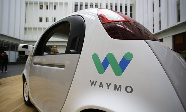 Waymo self driving car tests