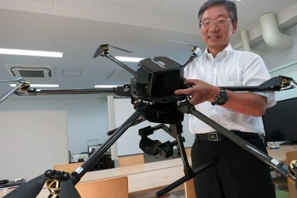 drones in japan