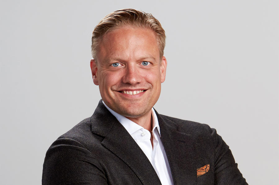 Henrik Green, the new head of research and development
