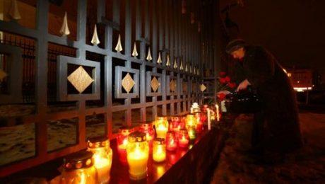 Tribute to TU-154 Tupolev, military jet crash victims
