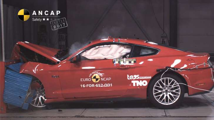 2016 Ford Mustang test