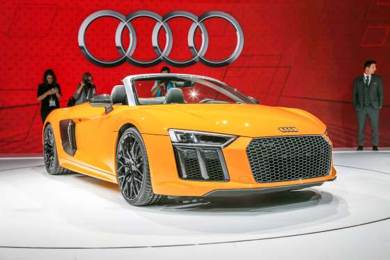 Images of 2017 Audi R8 V10 Spyder