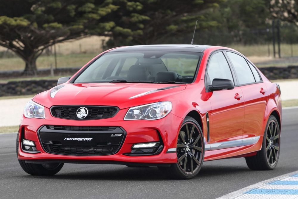 2017 Holden Commodore Motorsport Limited Edition