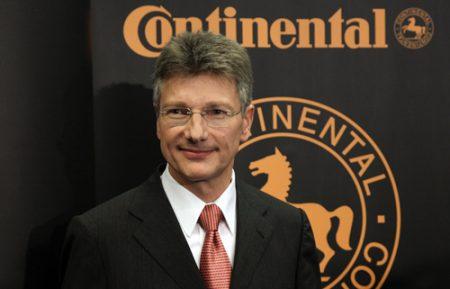 Elmar Degenhart CEO of Continental AG