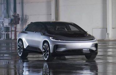 Faraday Future New Electric Car FF 91