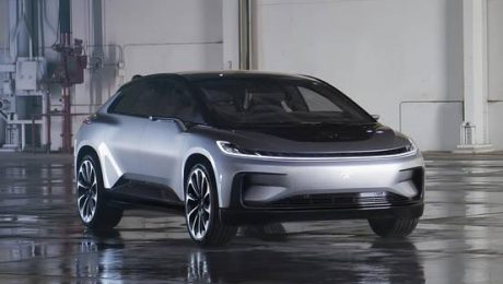 Faraday Future New Electric Car FF 91