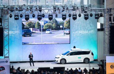 Google Van at Detroit Auto Show