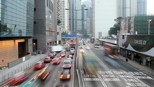 air in Hong Kong cars vehicles pollution