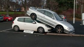 Kirkcaldy Train Station car accident