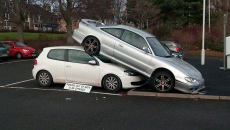 Kirkcaldy Train Station car accident