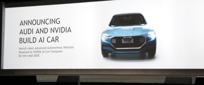 Nvidia, Audi AI self-driving