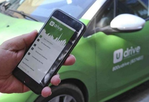 UDrive ride sharing
