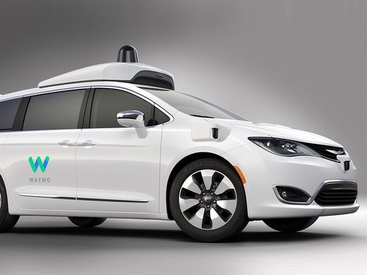 Alphabet's Waymo self-driving car