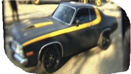 Detroit Steel car stolen