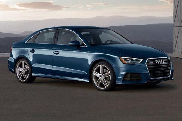 new facelift Audi A3 sedan