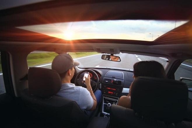 people drive