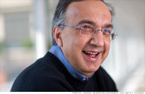 CEO Sergio Marchionne