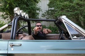 Owner Richard Rawlings at Gas Monkey Garage
