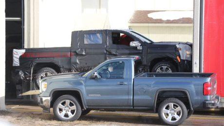2019 Chevrolet Silverado Spotted Camoflaged
