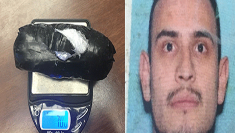 Arizona man accused hiding meth in car