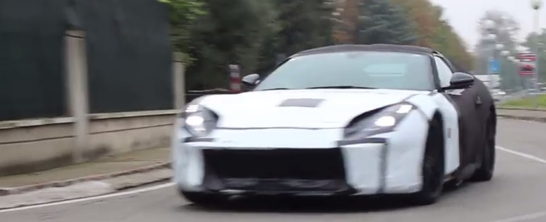 Ferrari M spy video