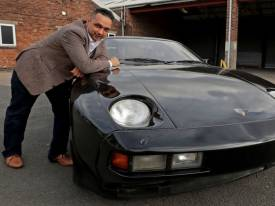 George Harrison Porsche auctioned