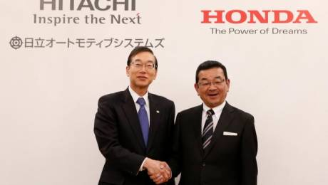 Honda and Hitachi