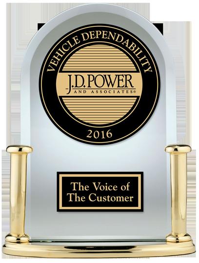J.D. Power Vehicle Dependability Study