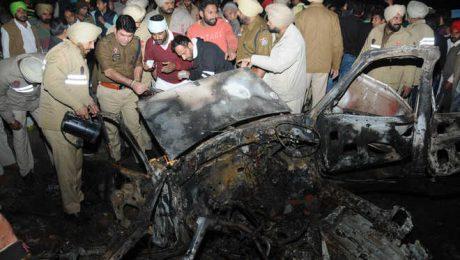 Maur Mandi car blast