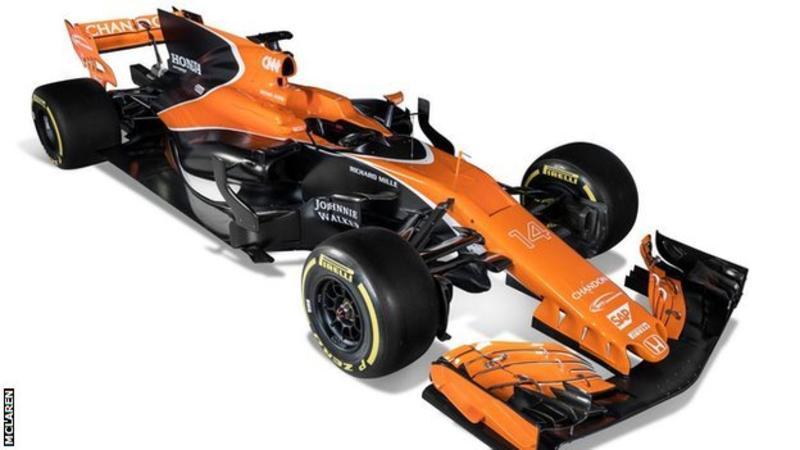 McLaren-Honda 2017 Formula 1 car