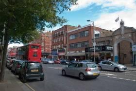 a busy london street