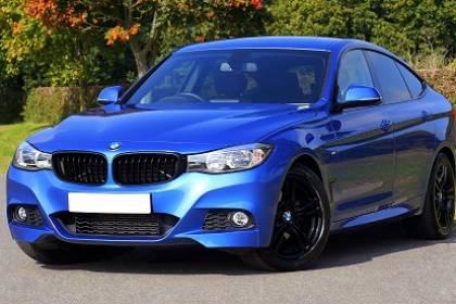 A new BMW car