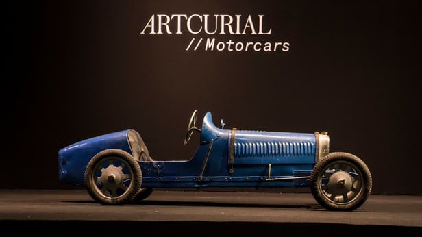 bugatti baby type 52 car